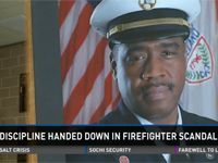 Firefighters disciplined for urinating on chief's picture