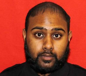 Pictued is Officer Johnathan Narain. (Photo/NYDOC)
