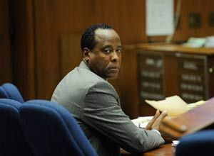 AP Photo/Kevord Djansezian, PoolDr. Conrad Murray looks on during the final stage of Conrad Murray's defense in his involuntary manslaughter trial in the death of singer Michael Jackson at the Los Angeles Superior Court.
