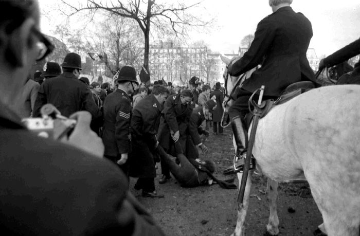 a 36 inch billy club worn by a police constable in  1968