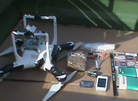 Drone carrying drugs, contraband seized at Okla. prison