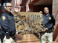 Courthouse contraband: What metal detectors, searches uncover