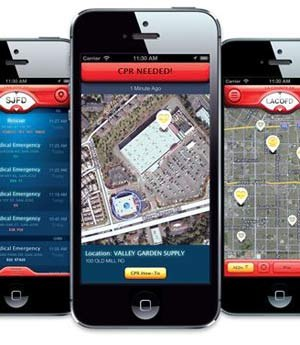Physio-Control and PulsePoint announced a free mobile app that connects CPR-trained citizens with information about nearby cardiac arrest victims