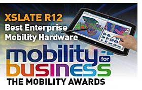 Nasdaq Xplr Today Announced That Its Xslate R12 Rugged Tablet Pc Was Recognized With The Mobility Award At 2017 For Business Tradeshow In