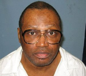 This undated file photo provided by the Alabama Department of Corrections shows a police mug shot of Vernon Madison, who is scheduled to be executed for the 1985 murder of Mobile police officer Julius Schulte on Thursday. (Alabama Department of Corrections, via AP, File)