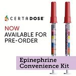 Certa Dose Epinephrine Convenience Kit Check & Inject (BLS), 5 Kits $449.95