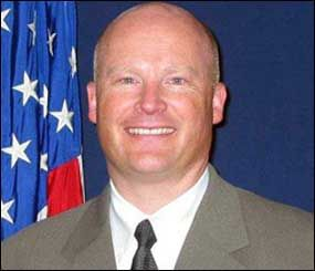 This image released by the U.S. Marshals Service shows deputy U.S. Marshal Richard J. Gardner, 48, who was wounded in the courthouse shooting in Las Vegas on Monday, Jan. 4, 2010. (AP Photo)