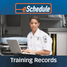 Training Records: Track certifications and classes with eas