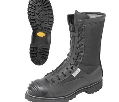 Pro Series 3006 10-inch NFPA Leather Structural Fire Boot with Speed-Zip. (Photo/The EMS Store)