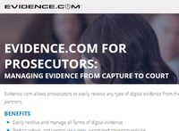 TASER launches free Evidence.com for prosecutors
