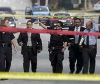 Ex-LAPD officer suspected in killing cop, 2 others
