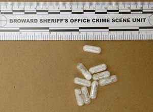 Drugs like the confiscated vials of flakka pictured above are changing the landscape of drug use. (AP Image)