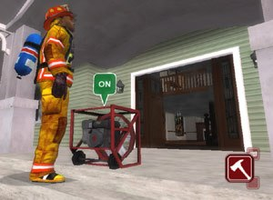 Flame-Sim offers virtual firefighting training