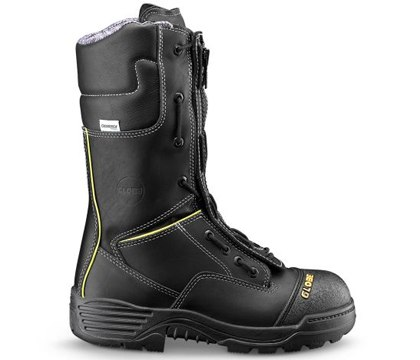 12-inch Structural Zipper Speed Lace Fire Boot. (Photo/Globe)
