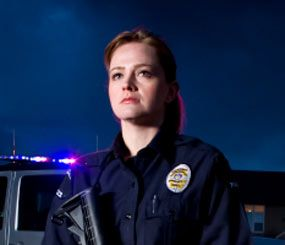 Fit for female cops: Crossbody carry and different regions of the body