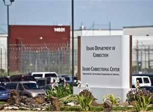 The Idaho Correctional Center is shown south of Boise, Idaho. (AP Photo/Charlie Litchfield, File)