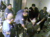 NJ county jail video shows scuffle before death