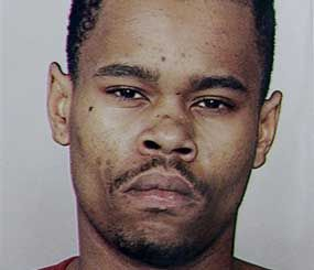 This undated file photo provided by the San Francisco Police shows Kenneth Harding, who died Saturday in a shootout with police. Investigators are now saying that the gunshot that killed Harding was self-inflicted (AP Photo).