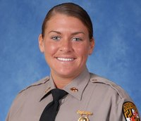 Md. trooper struck during traffic stop returns to work