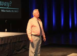 Mike Smith as the keynote speaker at EMS World 2011