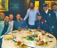 Brewers buy dinner for Milwaukee firefighters in Boston