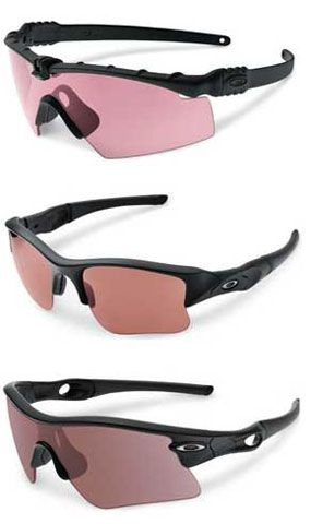 Oakley's Standard Issue Prizm eyewear provides maximum target visibility in style