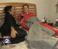 Paramedic punished for giving away blanket