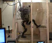 Humanoid disaster-relief robot navigates obstacles