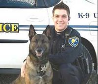 Thousands mourn death of Ill. officer, K-9 partner