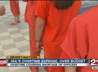 Okla. county jail goes $650,000 over budget for OT