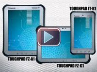 Panasonic Toughpad: All-Weather Design