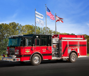 Pierce Manufacturing has delivered 18 Pierce fire and emergency apparatus to Lancaster County Fire Rescue Service located in Lancaster County, SC. This is the second time Lancaster County has taken delivery of 18 Pierce apparatus.