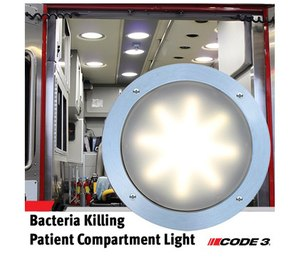 Code 3® Announces First of its Kind Bacteria Killing Patient