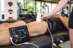 MuscleSound uses non-invasive ultrasound to measure body composition, lean mass and biometric imbalances. (Photo/MuscleSound)