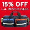 Save 15% on Quality LA Rescue Equipment Bags w/ Code EMSLA. Ends 6/30/19.