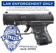 PPQ Sub-Compact LE with Phosphoric Night Sights $359