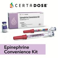 Certa Dose Epinephrine Convenience Kit for Anaphylaxis IM/SC use only