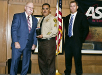Ariz. correctional officer honored for saving co-worker