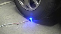 Police Lights - Junior LED - Driving Over from Whacker Technologies