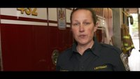 Firefighter makes PSA about suicide prevention