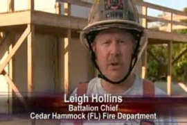 Training Minutes: Structure fire mock-up