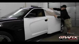 2013 Dodge Charger Door Wrap Installation Instruction