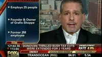 Grafix Shoppe CEO Featured on Fox Business Network to Discuss Unemployment Rates and the Economy