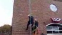 Rope rescue demo in Mass.