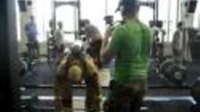 Insane firefighter workout wearing PPE