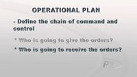 Crowd Control: Writing an Operational Plan