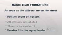 Crowd Control – Basic Team Formations