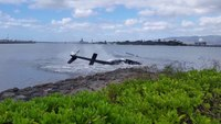 1 critically hurt after helicopter crash by Pearl Harbor