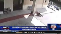 Inmate attempts to take CO's gun