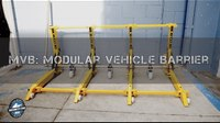 The Mifram Modular Vehicle Barrier or MVB